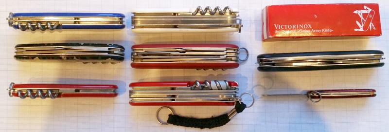 Schweizer Taschenmesser Modelle