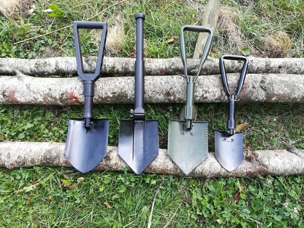Inet-Trades Outdoor Klappspaten Schaufel Spaten Stahl