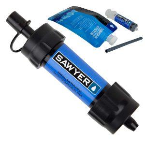 sawyer Wasserfilter mini survival bushcraft